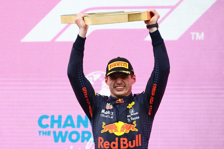 Max Verstappen a laissé exploser sa joie après sa victoire