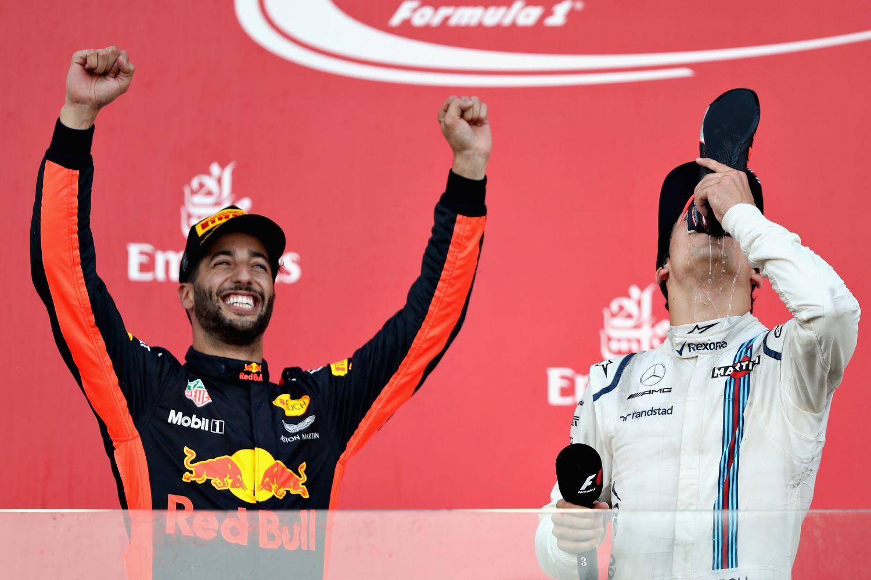 La course de 2017 marquée par la victoire de Ricciardo et le podium de Stroll est l'un des 7 faits marquants du Grand Prix d'Azerbaïdjan.