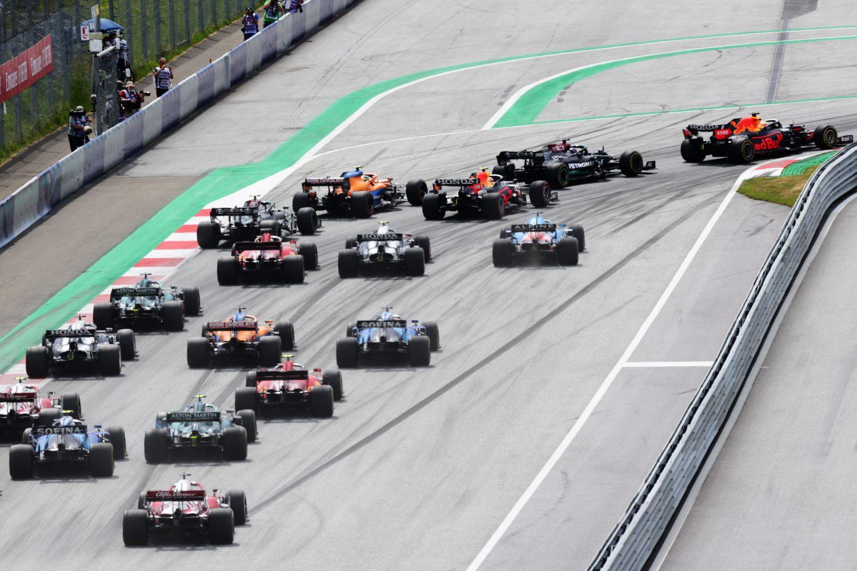 Le départ du Grand Prix de Styrie 2021.