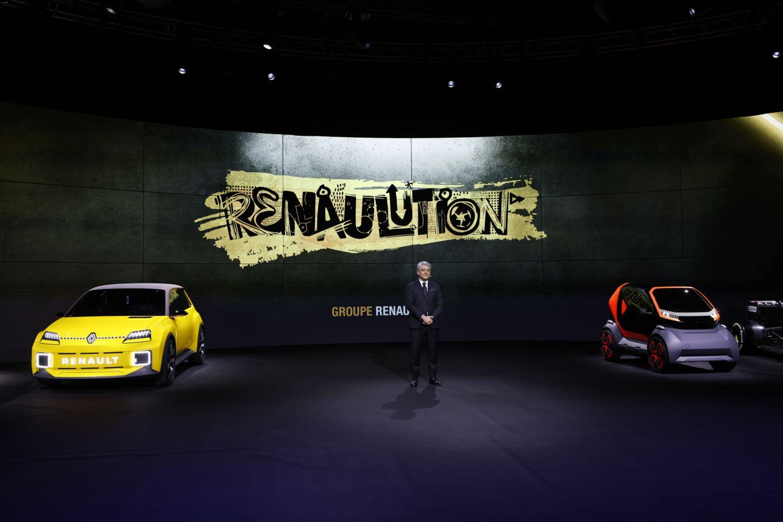 © Groupe Renault - La conférence Renaulution présentée par Luca de Meo