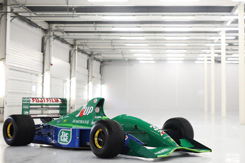 La Jordan 191 est l'une des Formule 1 les plus emblématiques