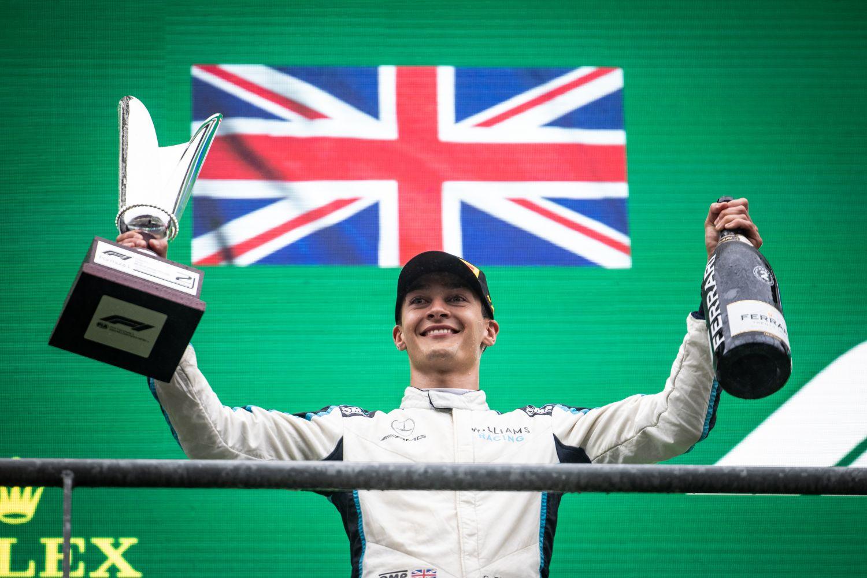Le Britannique a obtenu son premier podium en F1