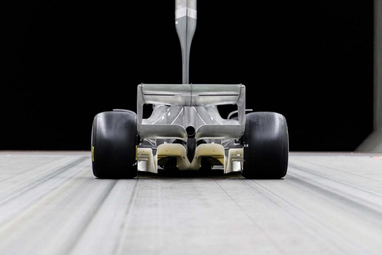 Le diffuseur de la maquette 2019 sur les F1 2022
