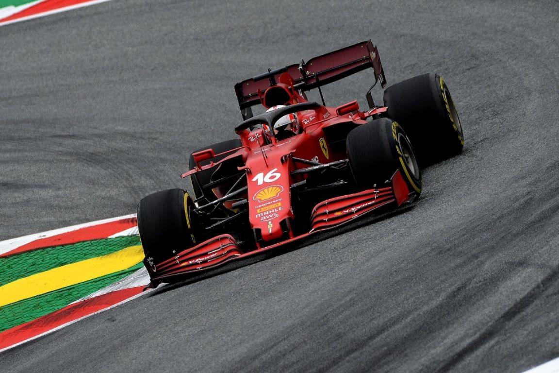 Grand Prix d'Autriche - Une course très mouvementée pour Leclerc