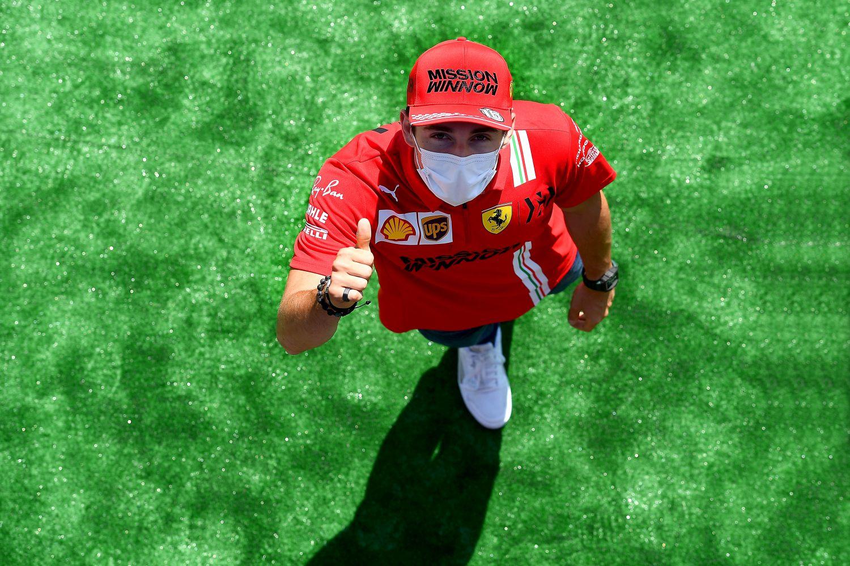 Charles Leclerc peut garder le sourire à Monaco !