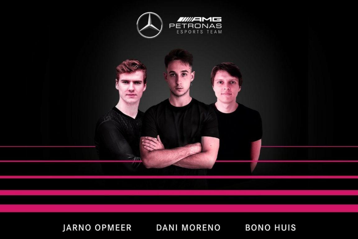 © Mercedes - Jarno Opmeer, Dani Moreno et Bono Huis formeront un trio explosif en 2021