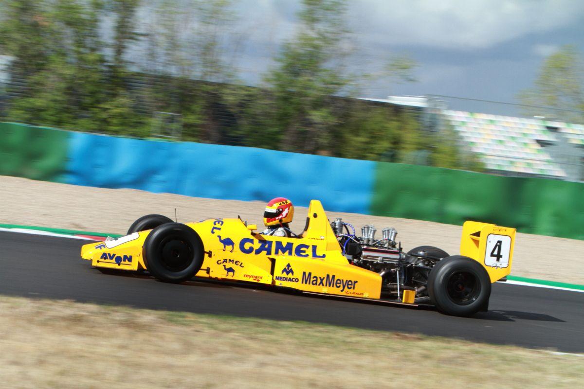 Des F1 historiques de retour dans la Nièvre