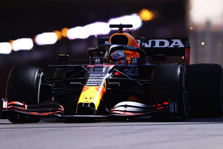 Max Verstappen leader des EL3 à Monaco.
