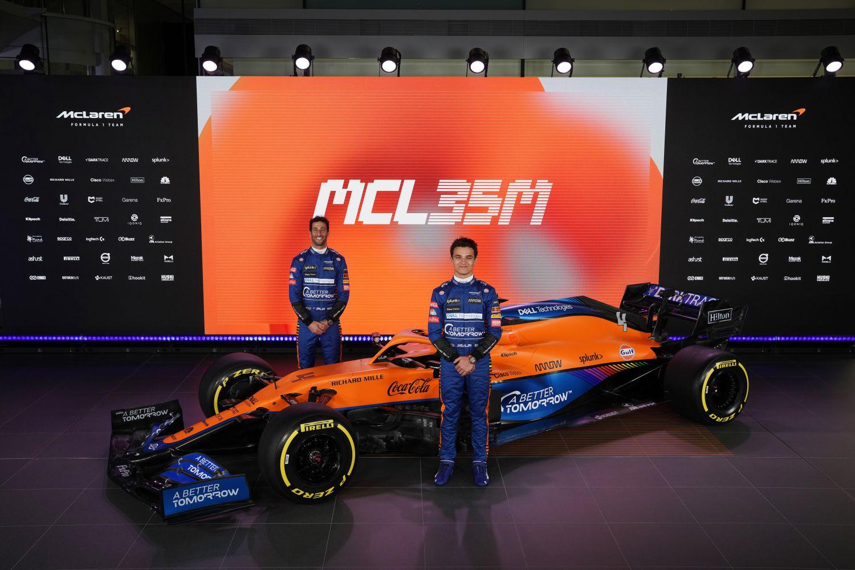© McLaren - L'équipe de Woking a dévoilé ce lundi 15 février la nouvelle McLaren MCL35M