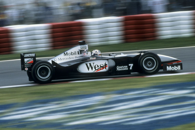 La McLaren à l'époque de West