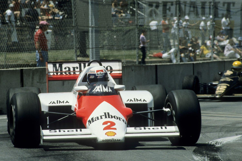 La McLaren à l'époque de Marlboro