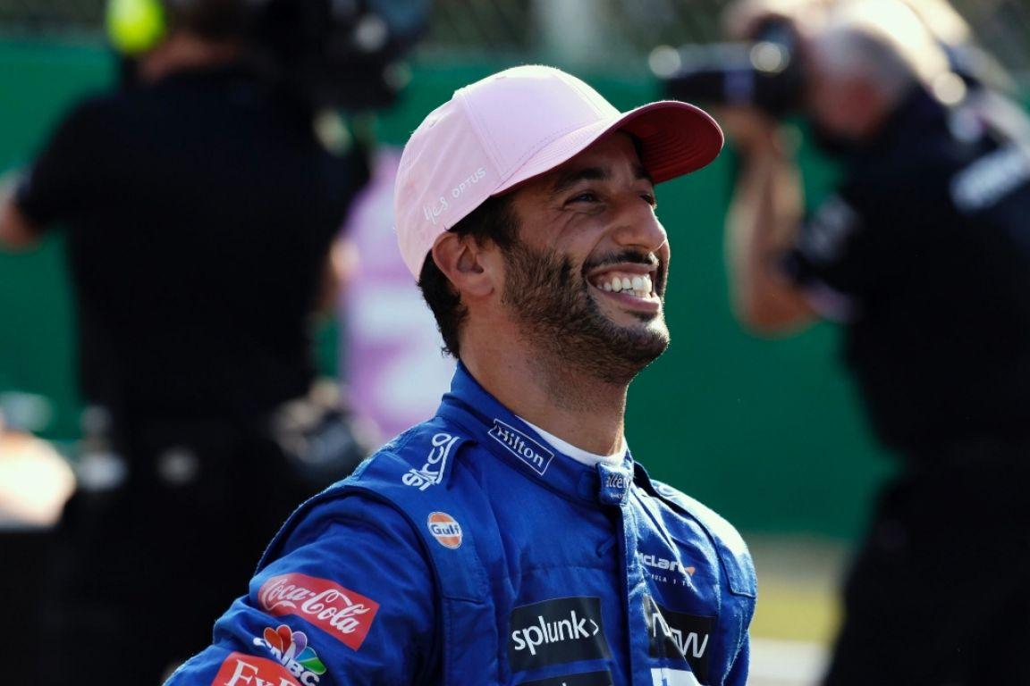 Ricciardo a remporté le Grand Prix d'Italie, devant son coéquipier, Lando Norris et Valtteri Bottas