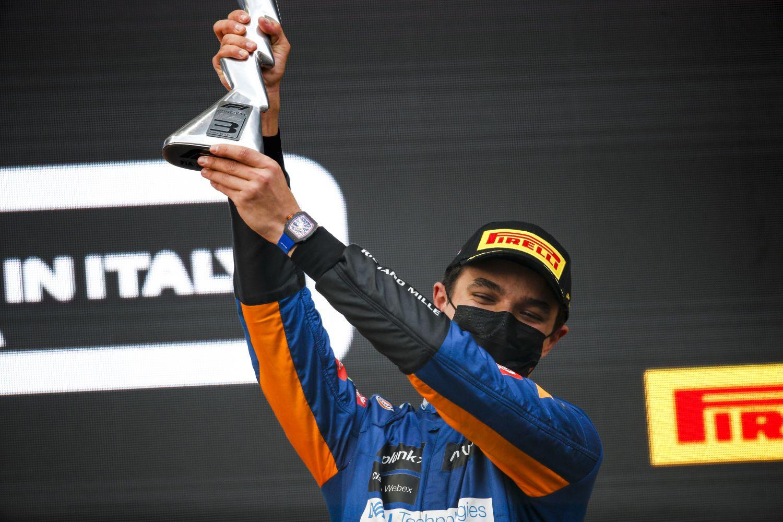 Le pilote McLaren est monté à deux reprises sur le podium cette saison