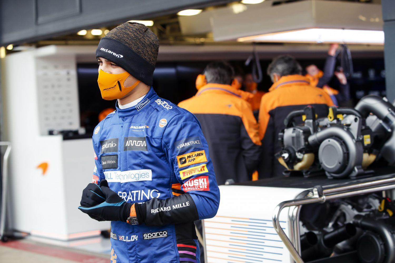 © McLaren - L'équipe était en shakedown à Silverstone avec la nouvelle monture la MCL35M