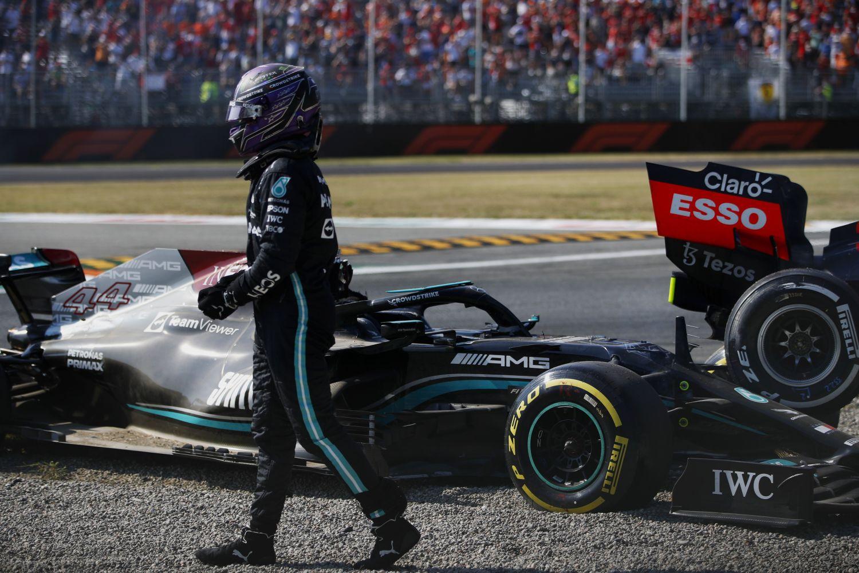 Hamilton est content que le halo existe en F1