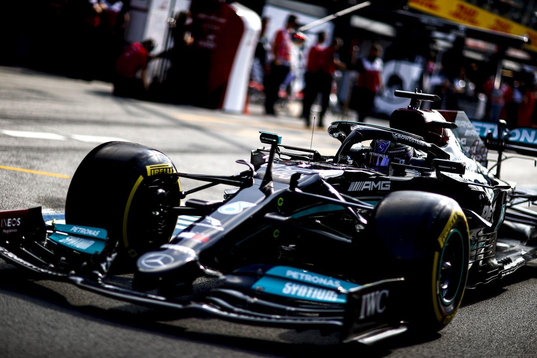Erreur stratégie de la part de Mercedes selon Hamilton