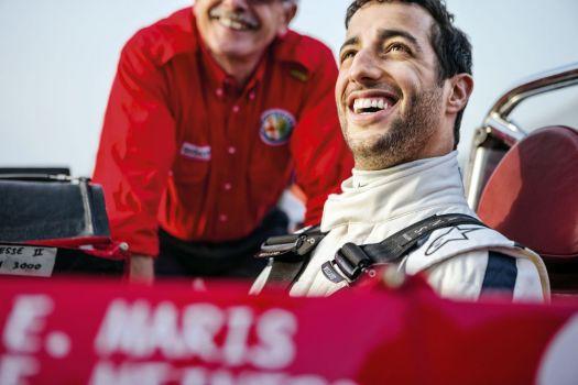 La Targa Florio avec Ricciardo