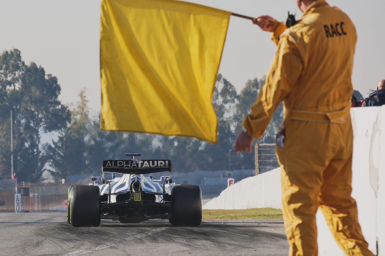 Les drapeaux en Formule 1 sont agités bien plus qu'on ne le pense