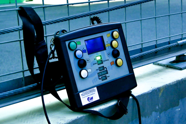 La console de EM Motorsport