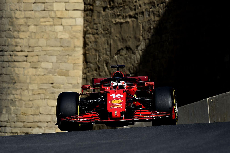 La pole pour le pilote Ferrari à Bakou !