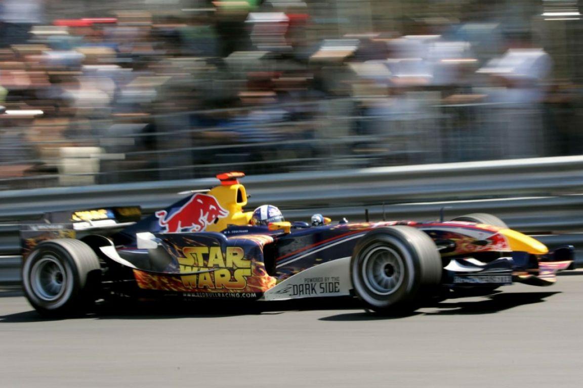 Une livrée spéciale Star Wars pour Red Bull à Monaco