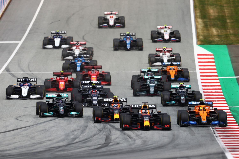 On ne revit jamais Max Verstappen après le départ