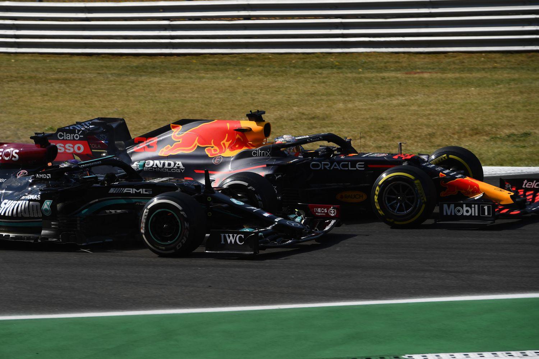Les bordures de Monza ne changeront pas malgré l'accrochage entre Hamilton et Verstappen