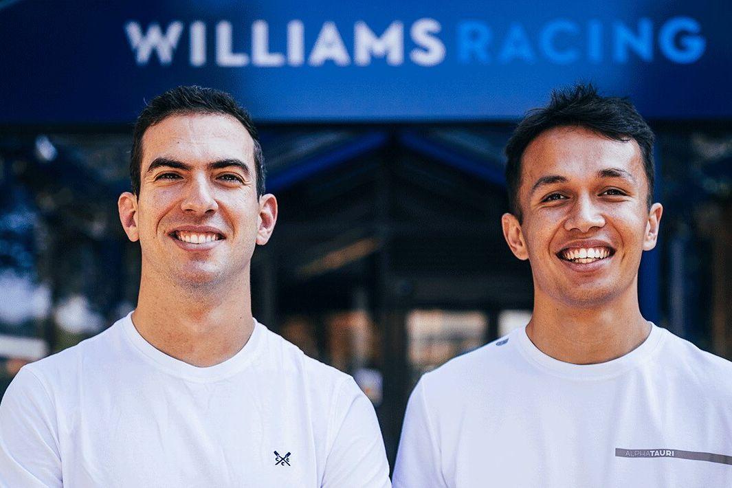 OFFICIEL : Williams recrute Albon et confirme Latifi en 2022