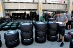 Photo Mercedes team personnel is checking tyres-1024.jpg